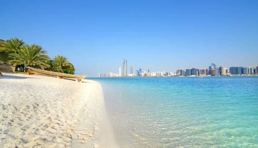 Abu Dhabi nabízí božské pláže