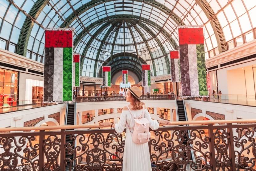 Emirates Mall v Dubaji