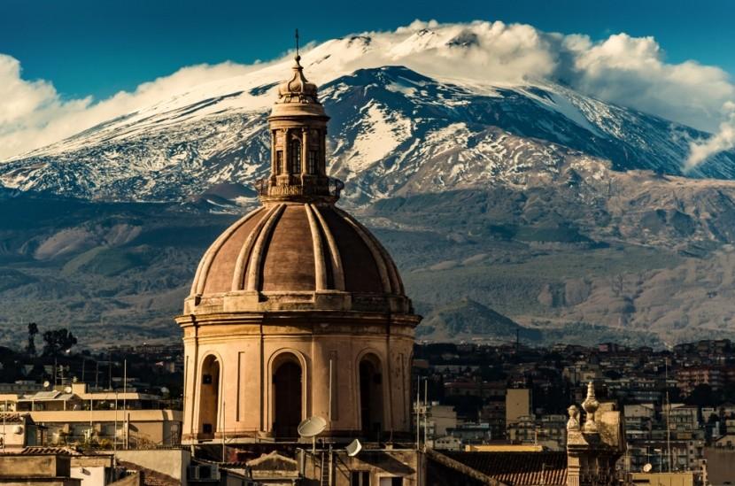 Catania és az Etna