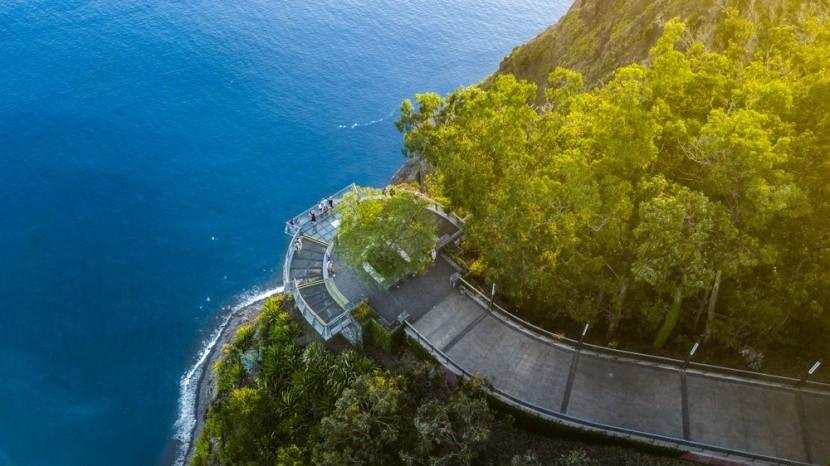 Vyhlídková plošina Cabo Girao