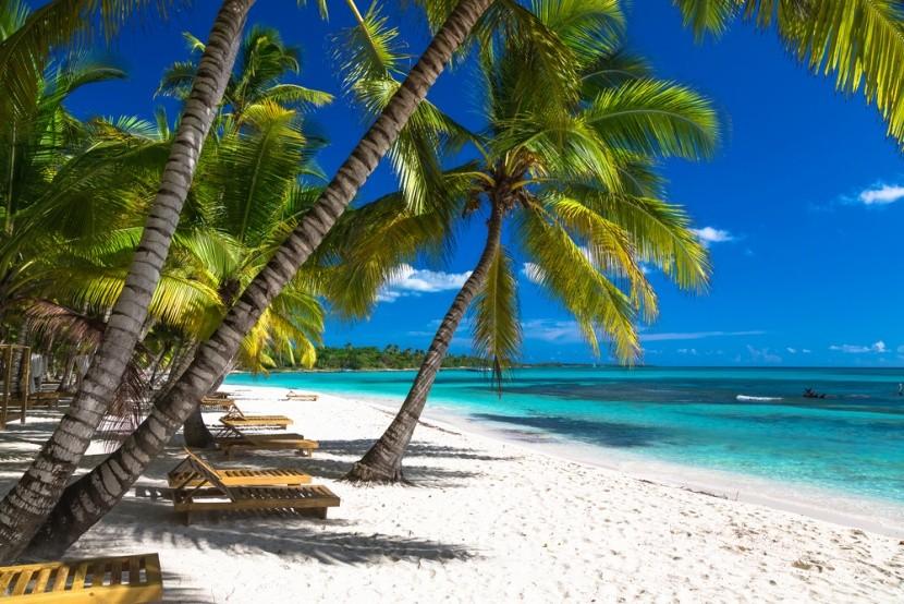 Dokonalé pláže v Dominikáně