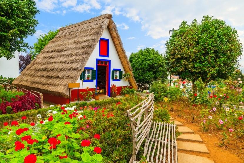 Tradiční venkovský domek na Madeiře