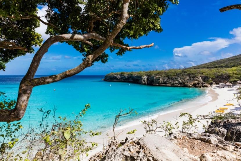 Rajská pláž Grote Knip, Curaçao