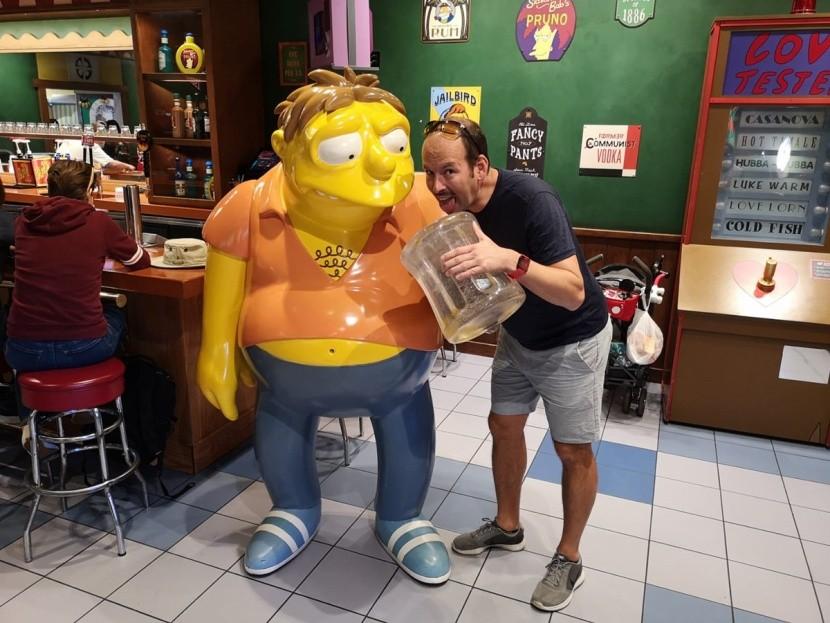 A Simpsonék és az Universal Studio Park