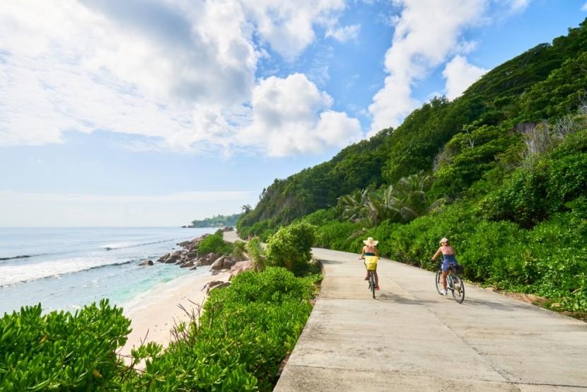 Cyklistika na ostrově La Digue