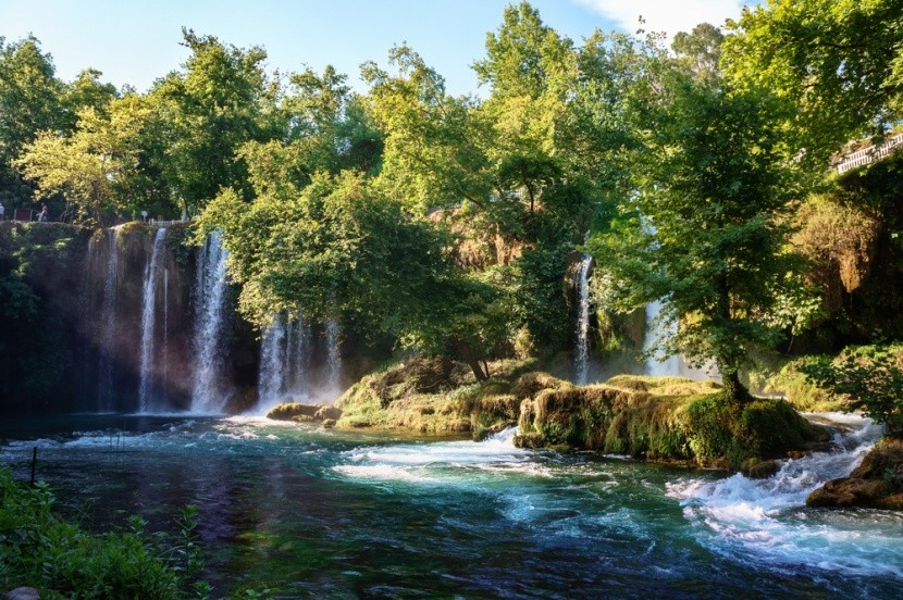 Vodopád Duden, Antalya, Turecko