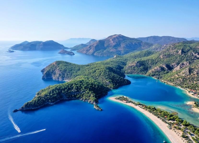 Modrá laguna, Fethiye, Turecko