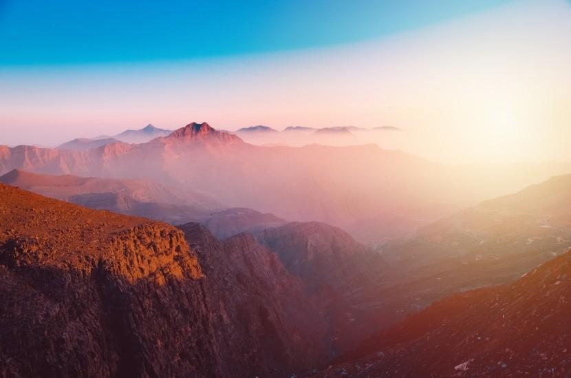 Magická hora Jebel Jais