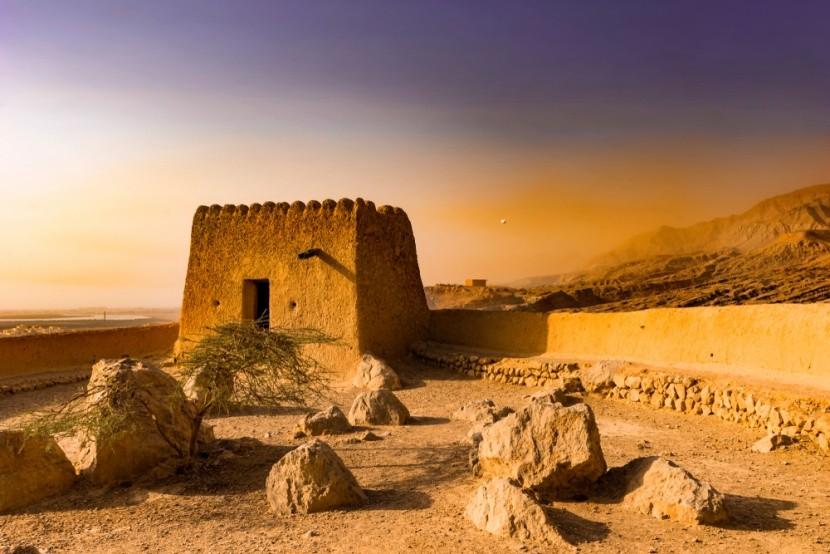 Pevnost Dhayah, Ras al Khaimah