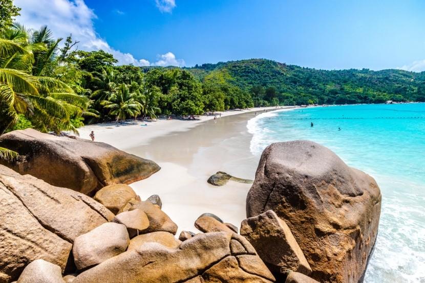Anse Lazio, Praslin, Seychely