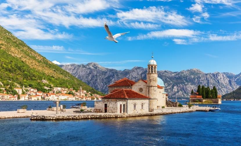 Ostrov sv. Jiří, záliv Kotor, Černá Hora