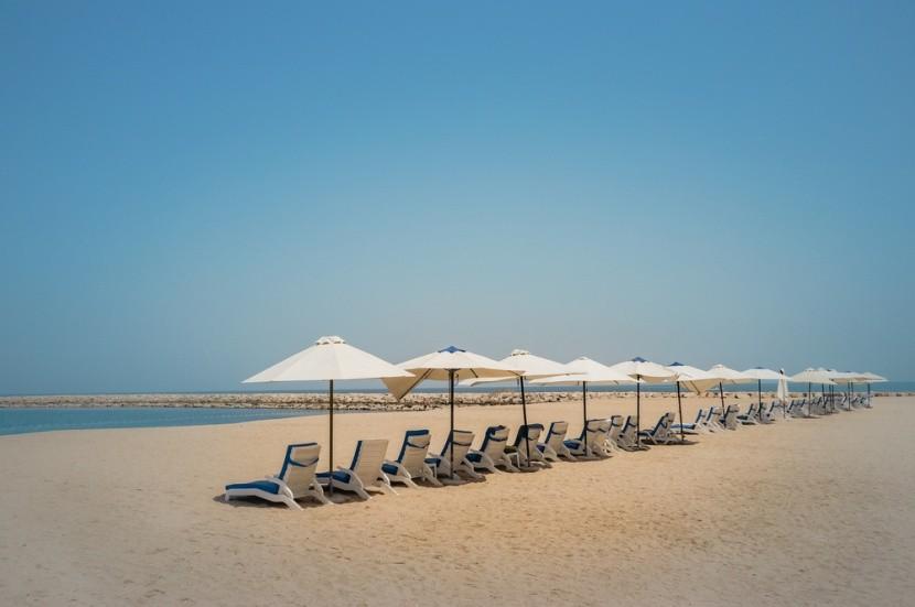 Pláž v Ras al Khaimah