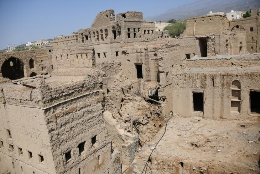 Vesnice duchů Jazirat al-Hamra