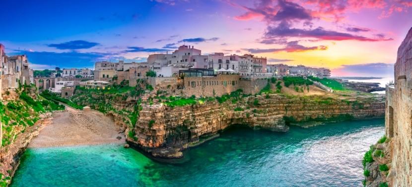 Puglia tengerpart
