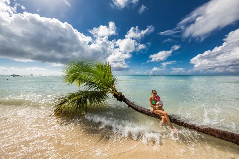 Családi kép a Dominikai-köztársaságban