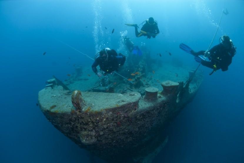 SS Thistlegorm hajóroncs, Egyiptom