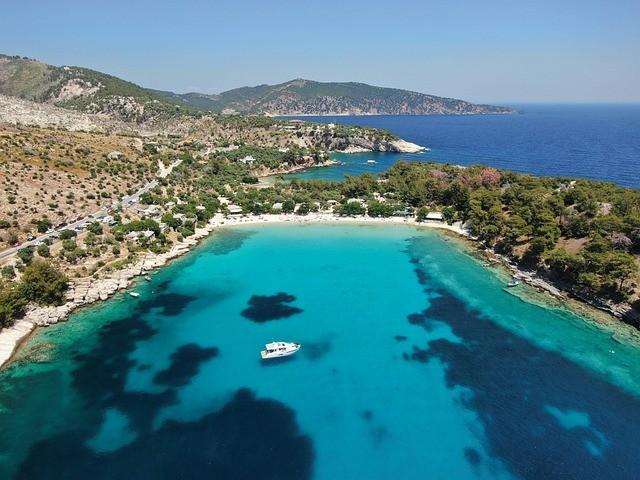 Thassos na wakacje w Grecji