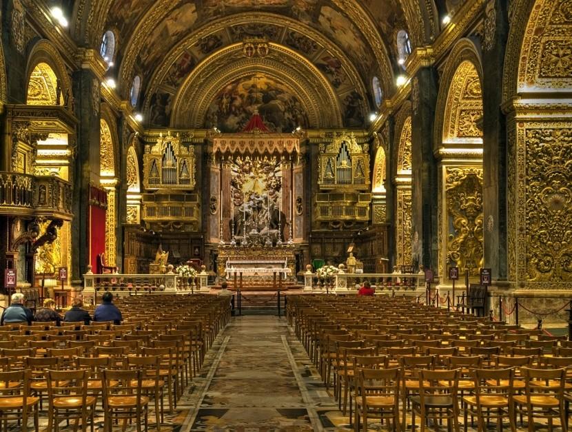 Katedrála Sv. Jana Křtitele, Valletta