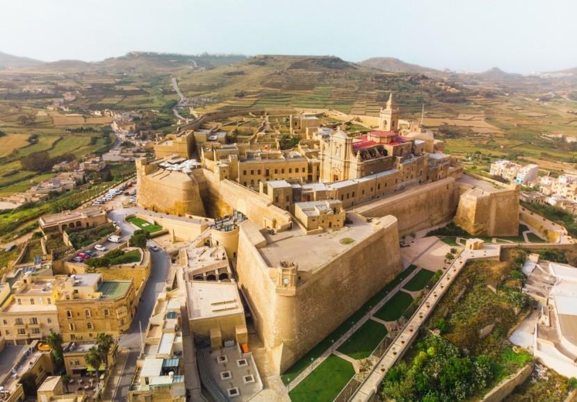 Citadela, ostrov Gozo
