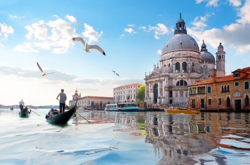 Itália, Velence és a Santa Maria della Salute
