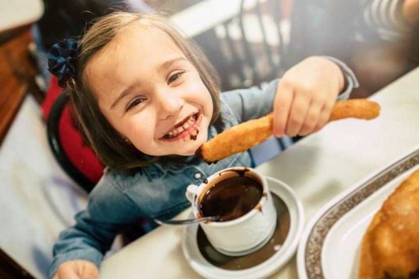 Děti si zamilují čoko churros