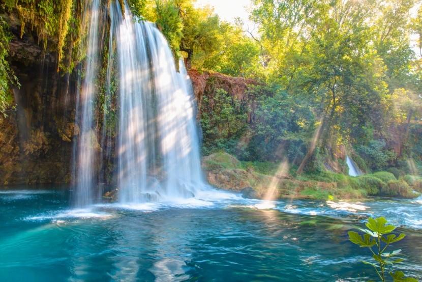 Čarokrásné vodopády Duden