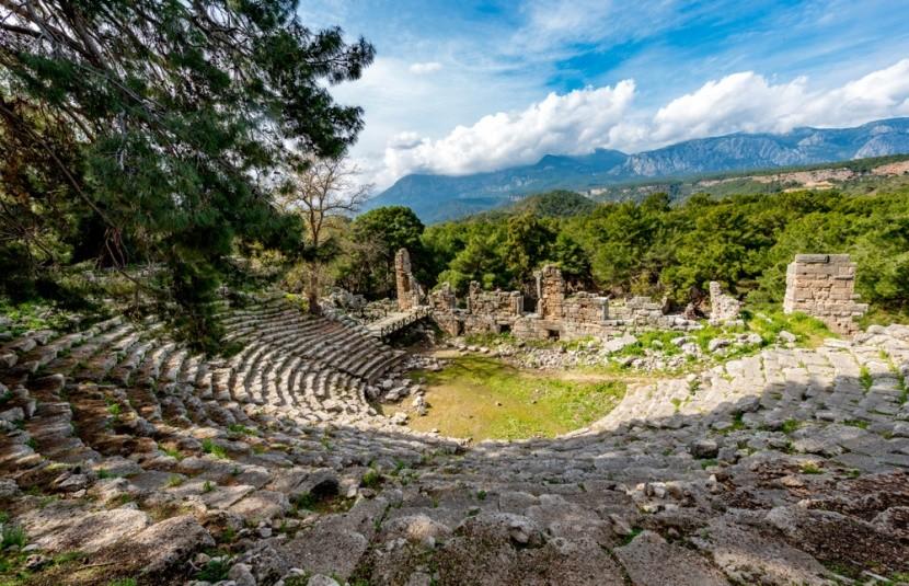 Rozvaliny řeckořímského města