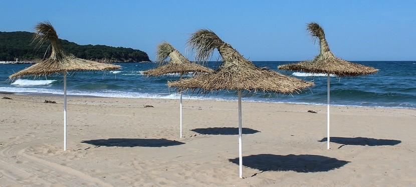 Plaża w Słonecznym Brzegu