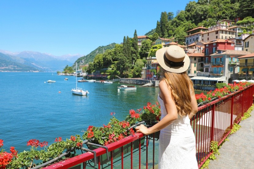 Italy, Comói-tó, Varenna
