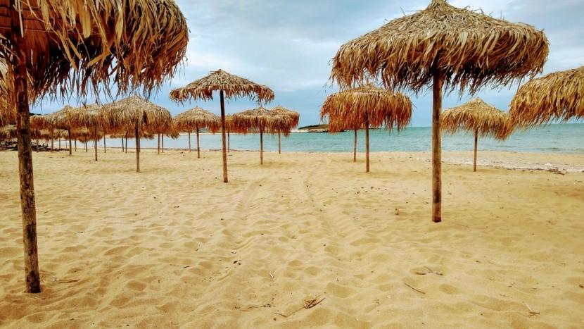 Pláž Arkutino v Bulharsku