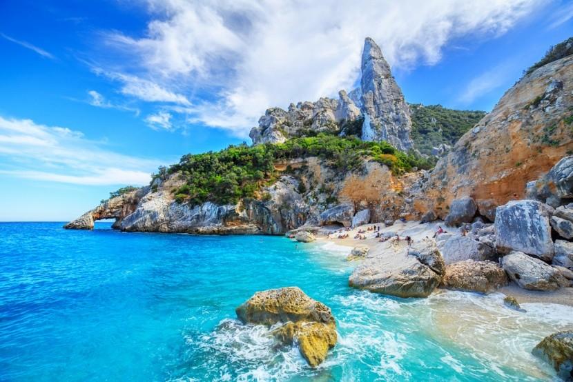 Pláž Cala Goloritze, Sardinie