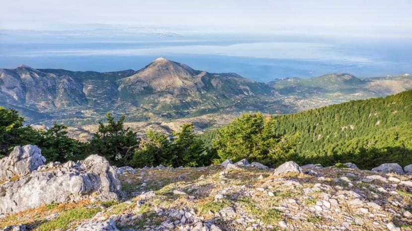 Hora Ainos, Kefalonie, Řecko