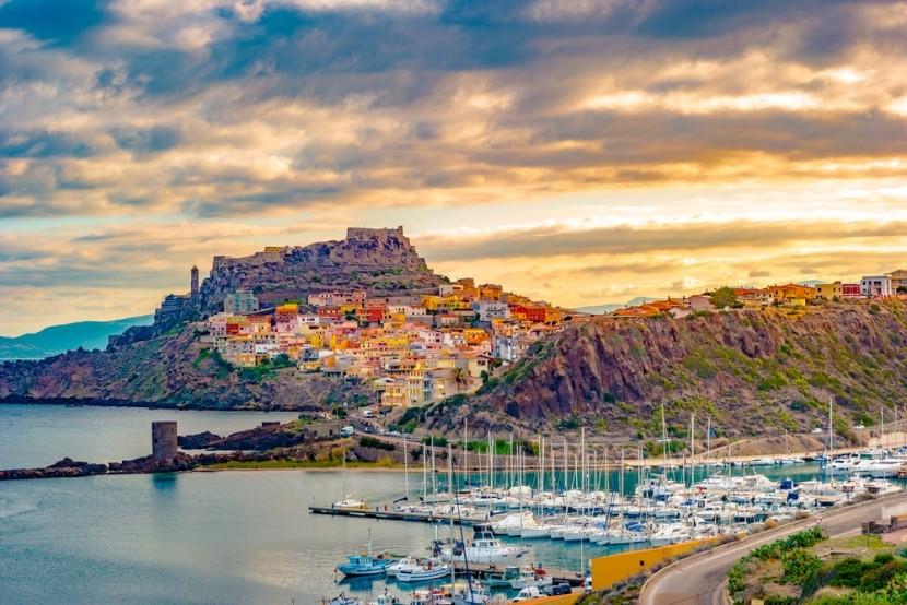 Castelsardo, Sardinie