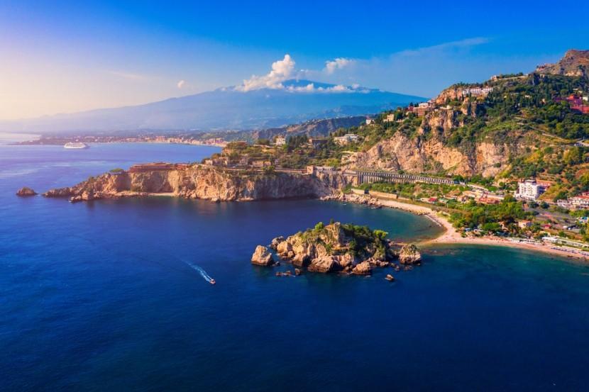 Taormina, Sicílie