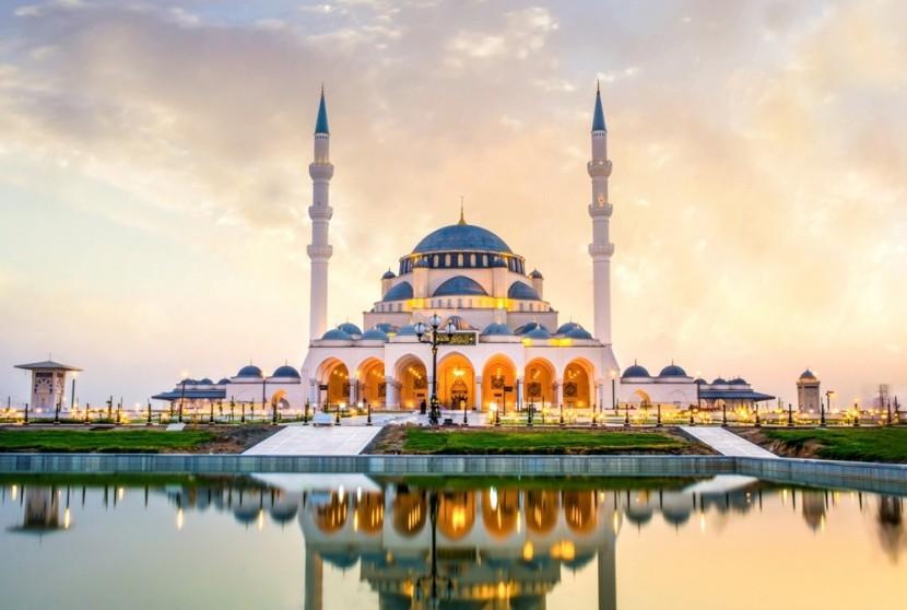 Nová mešita v Sharjah