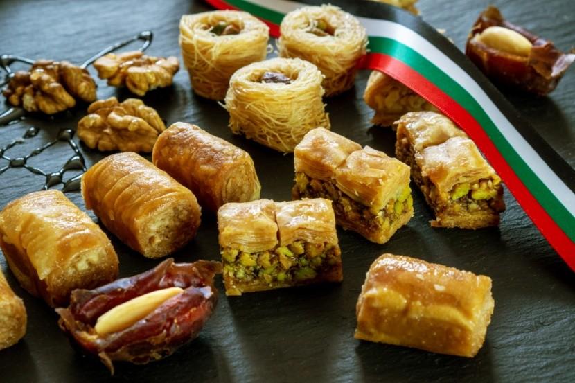 Baklava a sladkosti z datlí