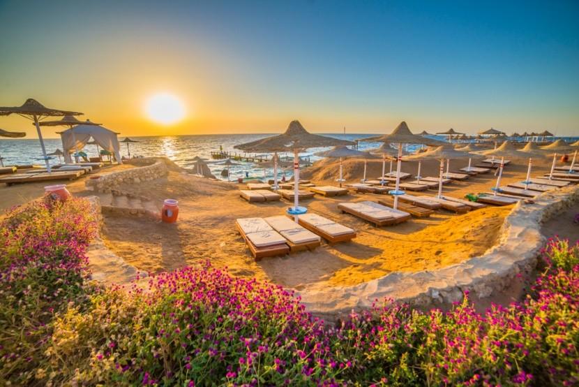 Východ slunce, Sharm el Sheikh, Egypt
