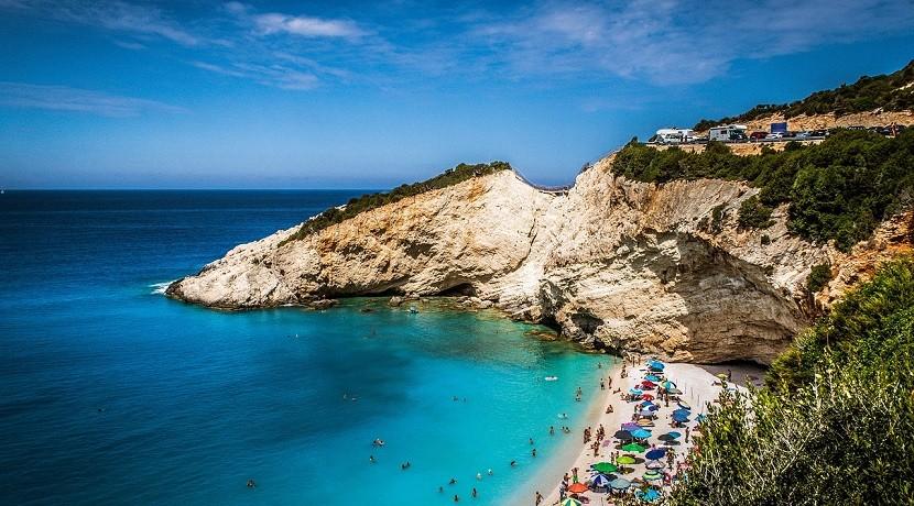 Plaża na greckiej Lefkadzie