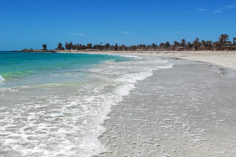 Tropická pláž, Djerba