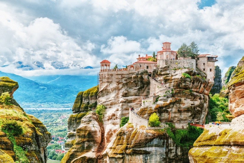Klášter, Meteora, Řecko